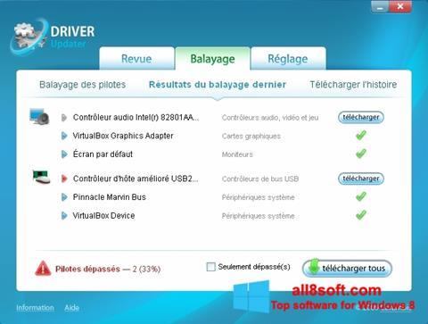 স্ক্রিনশট Carambis Driver Updater Windows 8