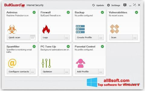 স্ক্রিনশট BullGuard Windows 8