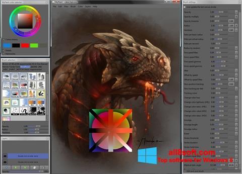 স্ক্রিনশট MyPaint Windows 8
