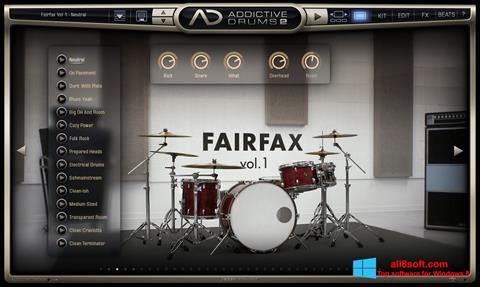 স্ক্রিনশট Addictive Drums Windows 8