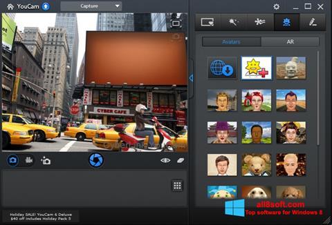 স্ক্রিনশট CyberLink YouCam Windows 8