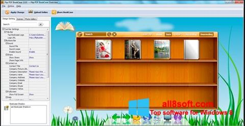 স্ক্রিনশট Bookshelf Windows 8