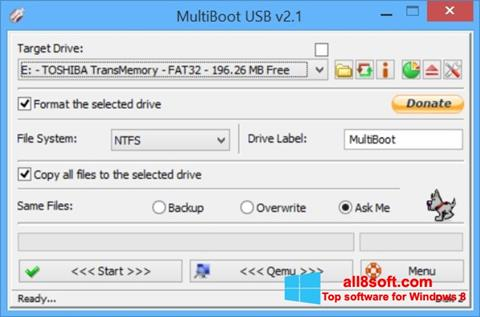 স্ক্রিনশট Multi Boot USB Windows 8