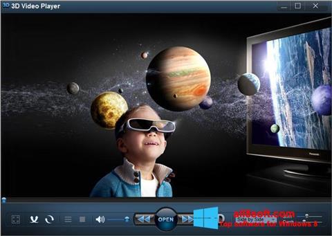 স্ক্রিনশট 3D Video Player Windows 8
