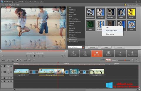 স্ক্রিনশট Movavi Video Suite Windows 8