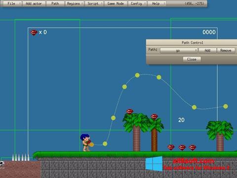 স্ক্রিনশট Game Editor Windows 8