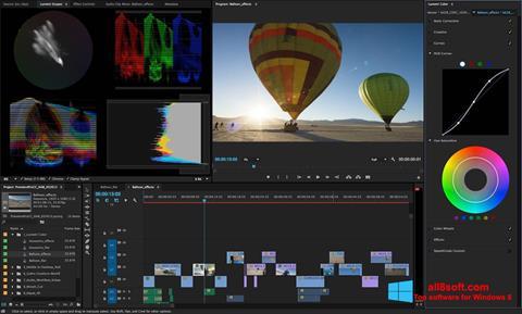 স্ক্রিনশট Adobe Premiere Pro Windows 8