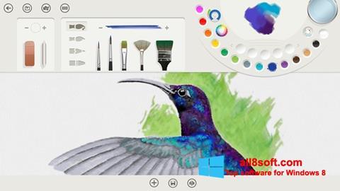 স্ক্রিনশট Fresh Paint Windows 8