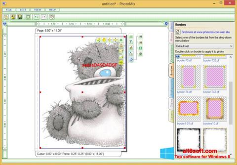স্ক্রিনশট PhotoMix Collage Windows 8