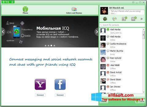 স্ক্রিনশট ICQ Windows 8