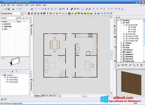স্ক্রিনশট FloorPlan 3D Windows 8