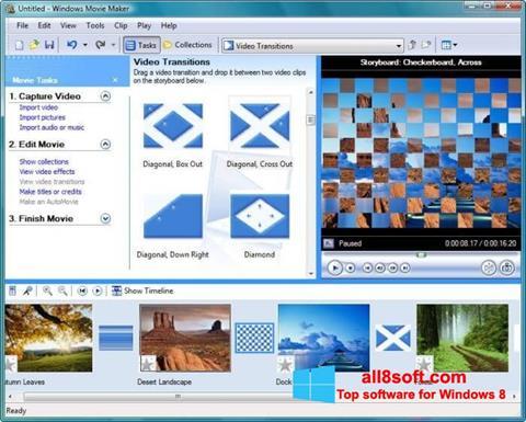 স্ক্রিনশট Windows Movie Maker Windows 8