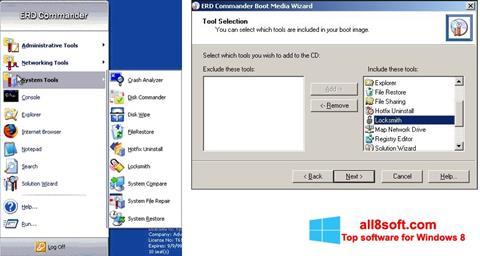 স্ক্রিনশট ERD Commander Windows 8