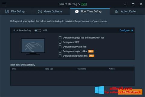 স্ক্রিনশট Smart Defrag Windows 8