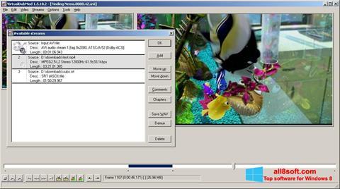 স্ক্রিনশট VirtualDubMod Windows 8