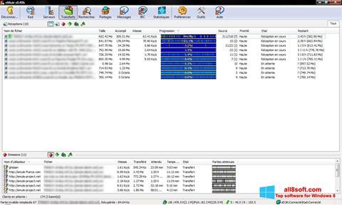 স্ক্রিনশট eMule Windows 8