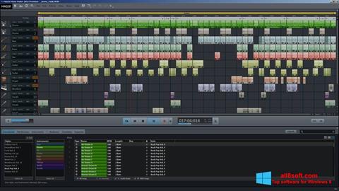 স্ক্রিনশট MAGIX Music Maker Windows 8
