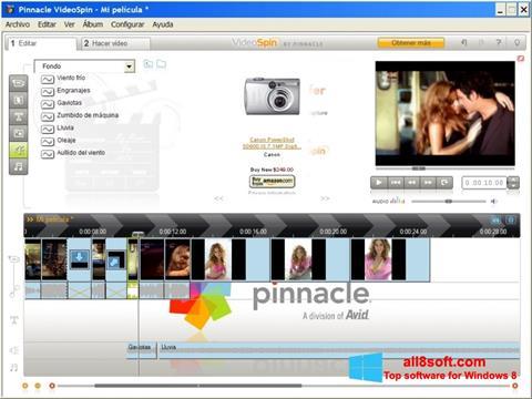 স্ক্রিনশট Pinnacle VideoSpin Windows 8