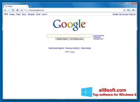 স্ক্রিনশট Google Chrome Beta Windows 8