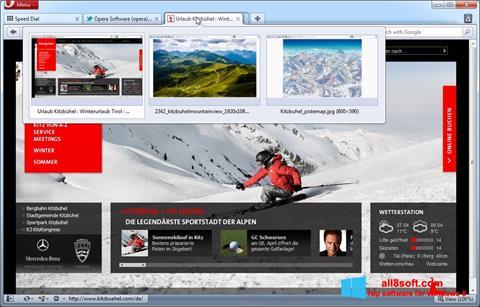 স্ক্রিনশট Opera Windows 8