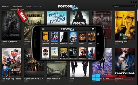 স্ক্রিনশট Popcorn Time Windows 8