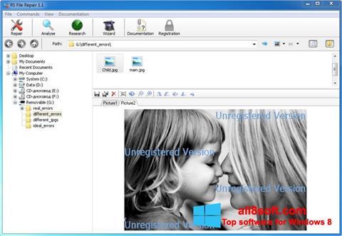 স্ক্রিনশট File Repair Windows 8