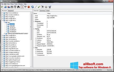 স্ক্রিনশট Charles Windows 8