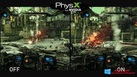 স্ক্রিনশট NVIDIA PhysX Windows 8