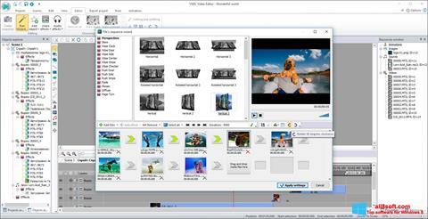 স্ক্রিনশট VSDC Free Video Editor Windows 8