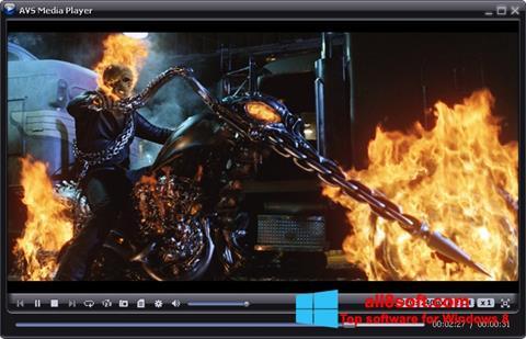স্ক্রিনশট AVS Media Player Windows 8