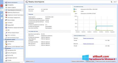 স্ক্রিনশট Kerio Control Windows 8