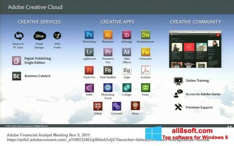 স্ক্রিনশট Adobe Creative Cloud Windows 8