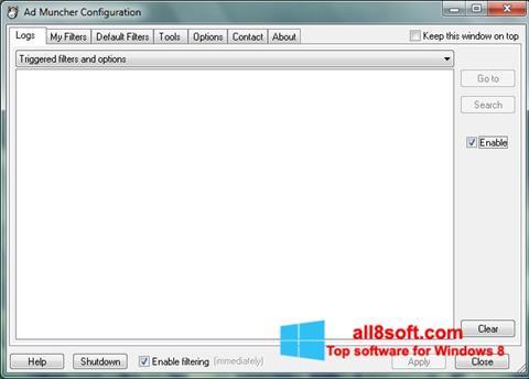স্ক্রিনশট Ad Muncher Windows 8