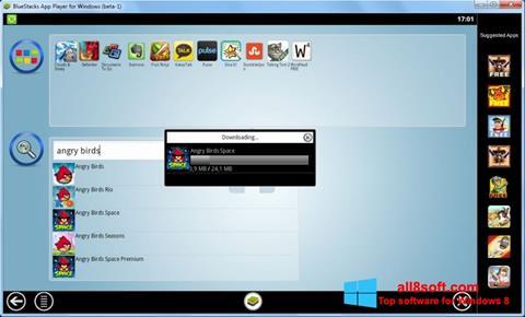 স্ক্রিনশট BlueStacks Windows 8