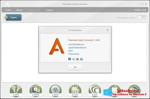 স্ক্রিনশট Freemake Audio Converter Windows 8