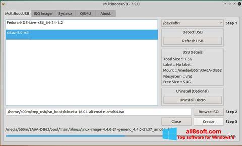 স্ক্রিনশট MultiBoot USB Windows 8