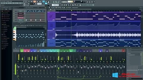 স্ক্রিনশট FL Studio Windows 8
