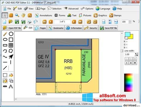 স্ক্রিনশট PDF Reader Windows 8