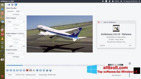 স্ক্রিনশট Avidemux Windows 8