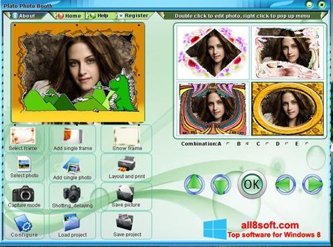 স্ক্রিনশট Photo Booth Windows 8